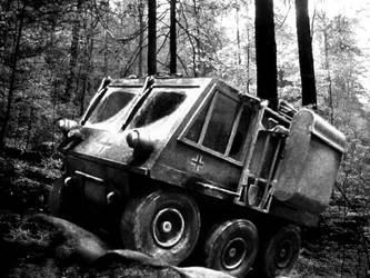 German 6-Wheel Scout Vehicle (fictional) by Frohickey