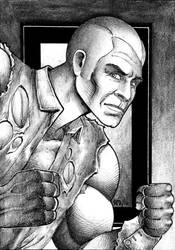 Doc Savage by Frohickey
