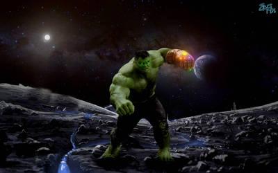 Unstoppable Hulk (We're screwed) by Jedimasterhulk