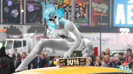 Ghost Spider [Amazing Spider-Man 2] by Jedimasterhulk