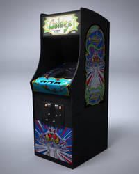 Galaga Arcade Machine by nocomplys