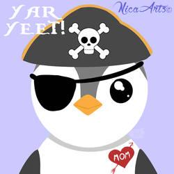 Yar YEET!  by Nica-Arts