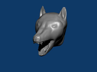 Angry_Wolfhead_Template-WIP by ormus
