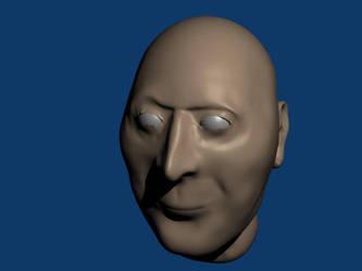 Male head 1 by ormus