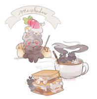 Marshadow Marshmallow Treats by KittyCouch