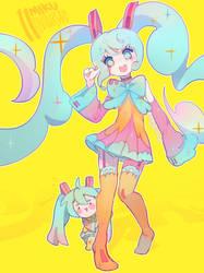 Miku 11 Anniversary by KittyCouch