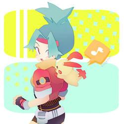 Pokemon Ranger by KittyCouch