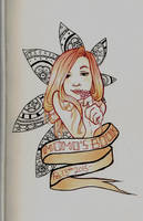 Sketchbook Page by Monique--Renee