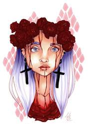 Roses by Monique--Renee