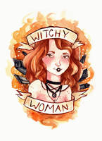 Witchy Woman by Monique--Renee