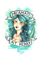 Mermaid at Heart by Monique--Renee