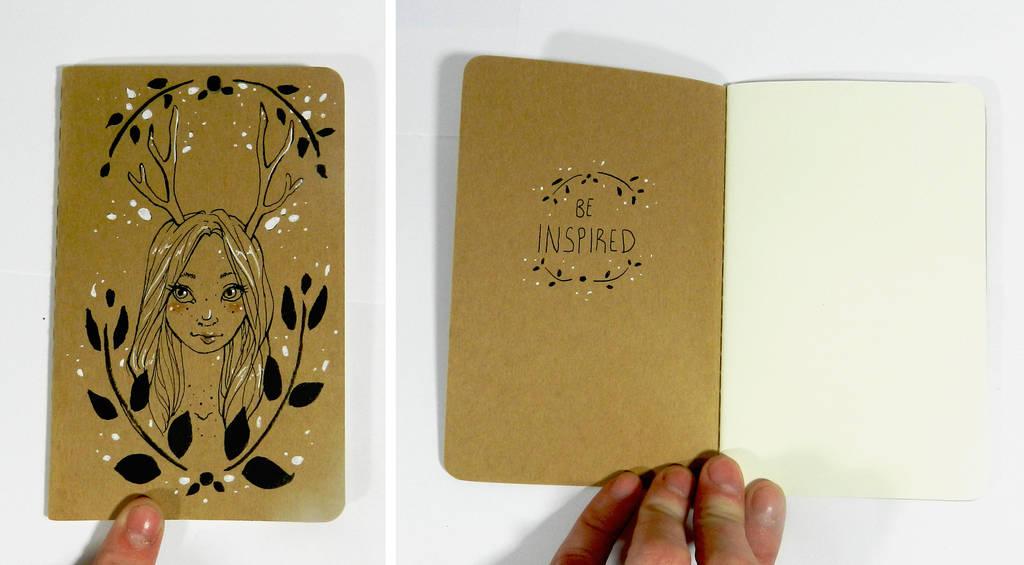 Deer Girl Journal by Monique--Renee