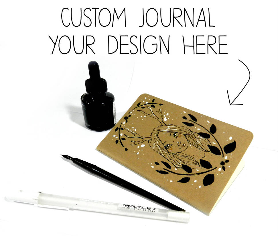 Custom Journal Commissions by Monique--Renee