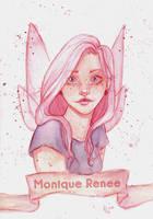 Self Portrait by Monique--Renee