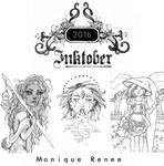 INKTOBER ARTBOOK PRE-ORDERS OPEN by Monique--Renee