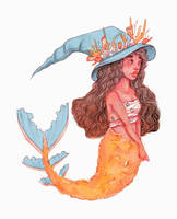 MerMay Day 2 by Monique--Renee