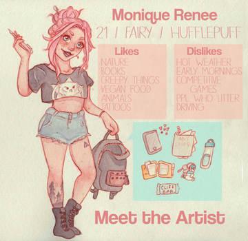 Meet the Artist by Monique--Renee