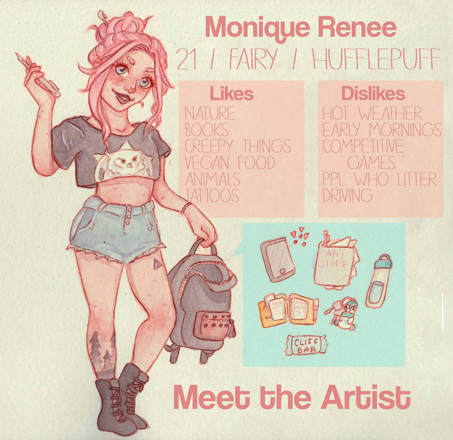 Meet the Artist by Monique--Renee