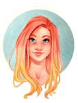 Simple Portrait by Monique--Renee