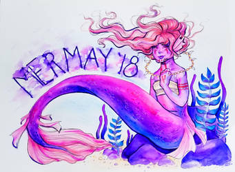 MerMay Day 1 by Monique--Renee