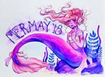 MerMay Day 1 by Monique--Renee