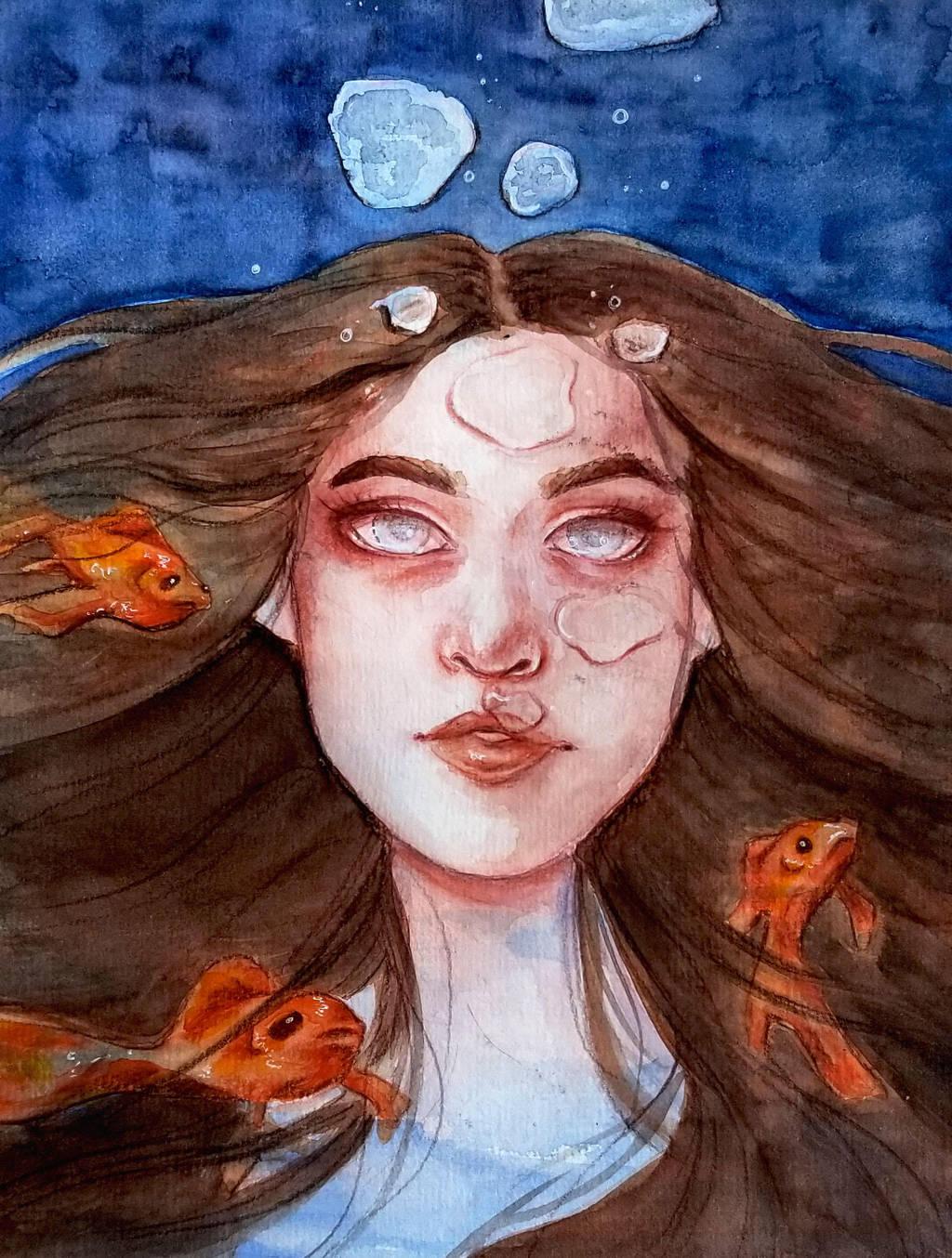 The Siren MerMay Day 5 by Monique--Renee