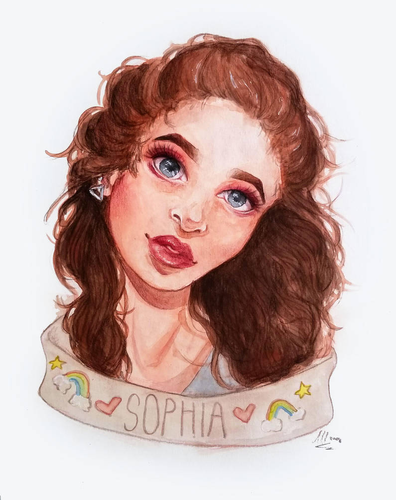 Sophia Commission by Monique--Renee