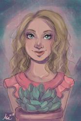 Sketch Commission 2 by Monique--Renee