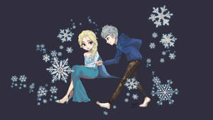 jack and elsa! by thaand92