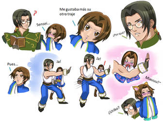 No a las Mangas! ( Long y Uriko) by PamCitoGackpoid