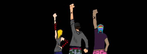 My crew! by Zephyrus-kun
