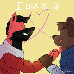 [SONG!] I Love You So by ItsDaBlazeWolf