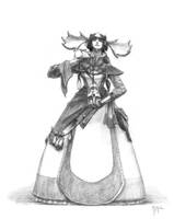 Sorceress by portablecity
