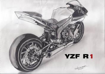 Yamaha YZF R1 by CORNBREAK