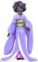 Kimono Feline by nalina