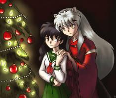 Inuyasha Christmassy Pic by nalina