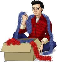 Christmas Virgil by nalina