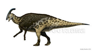 Charonosaurus jiayinensis by EoFauna