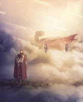 Sky Dragon 3 by RandomArtist77