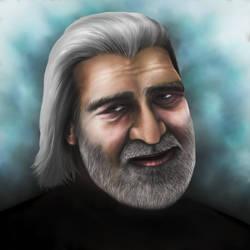 Portrait attempt by My-Oniric-Dimension