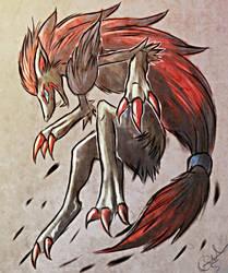 Zoroark by Magickie