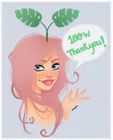 Thank you! by Amethylia