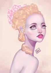 Marie-Antoinette by Amethylia