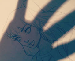 Daily sketch! (11 sept) by Amethylia