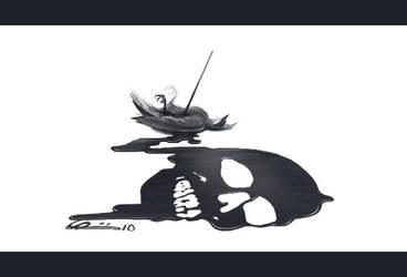 Dead bird by Fstate
