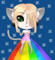 Nyan cat 2: Rainbow Boogaloo by BattyDesuGirl