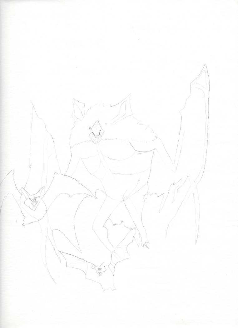 Goofy Bats by jnekomimi