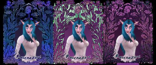 Raven's alternates by Firebli9ht