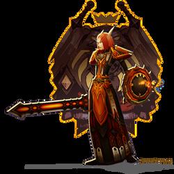 Blood Elf Paladin Sig by Firebli9ht