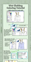 Coloring Wet Clothing Tutorial by xXEternal-twilightXx